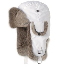 Barts Adults Real Fur Kamikaze White