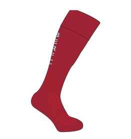 BERFC Junior Training Sock Maroon/Sky