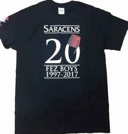 Fez Boys Adults 20th Anniversary T Shirt