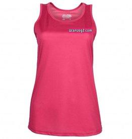 UCANJOG Girlie Cool Vest Hot Pink