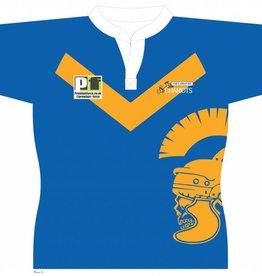 VRFC Junior Training Shirt Royal/Yellow