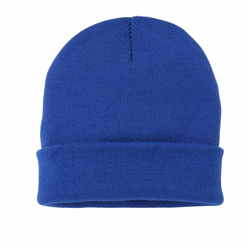 Premium Force VRFC Adults Turnover Beanie Royal
