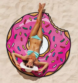 Big Mouth Inc Big Mouth Giant 5' Beach Blanket Strawberry Donut