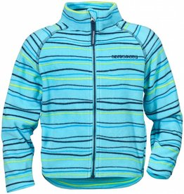 Didriksons Boys Monte Fleece Jacket Blue Billow