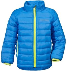 Didriksons Boys Umlali Quilted Jacket Sharp Blue