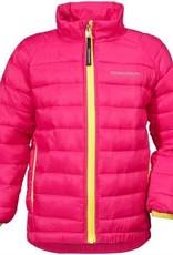 Didriksons Girls Umlali Quilted Jacket Fuchsia