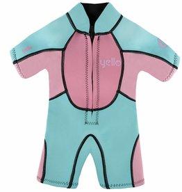 Girls Seahorse Infant Shorty Wetsuit Sky