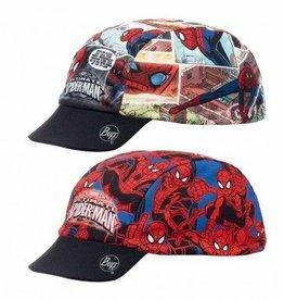 Buff Kids Spiderman Cartoon Buff UV Cap