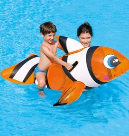 Bestway Inflatable Clown Fish Pool Rider