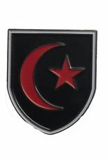 Premium Force Saracens 28mm Shield Pin Badge