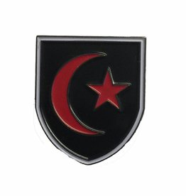 Premium Force Saracens 28mm Shield Pin Badge