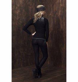 S'No Queen Ladies Blingy Classic Leggings Black