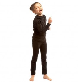 Steiner Kids Soft-Tec LS Thermal Vest Black
