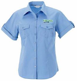 Premium Force Kids Play Roll Sleeve Shirt Blue