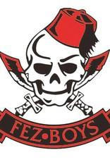 Fez Boys External Window Sticker 80mm