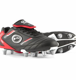 Optimum Junior Tribal Rugby Boot Blk/Red