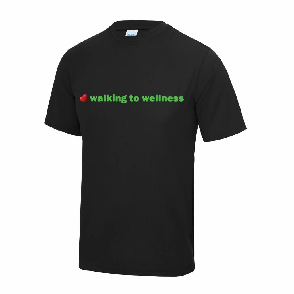 Premium Force Mens Walking to Wellness S/S T Shirt