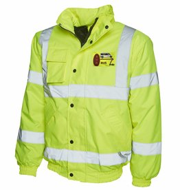 Premium Force Bod Bus Hi Vis Bomber Jacket