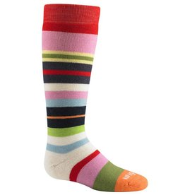 Wigwam Girls Snow Force Ski Sock Poppy