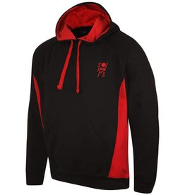 Stopsley Striders Adults Hoodie Black/Red
