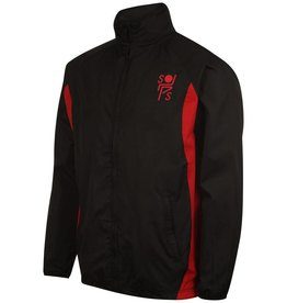 Premium Force Stopsley Striders Adults Track Jacket Black/Red