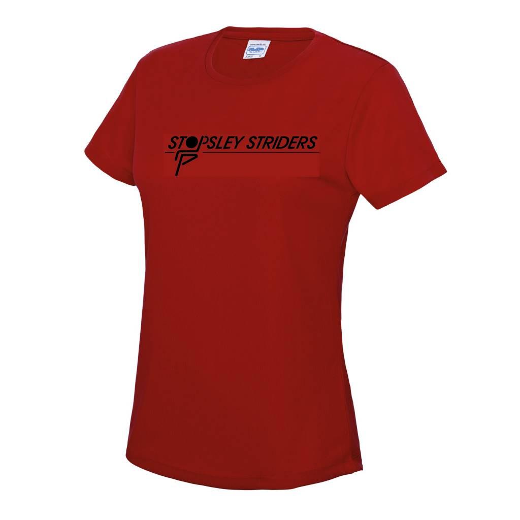Premium Force Stopsley Striders Ladies Cool T