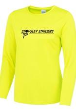 Premium Force Stopsley Striders Ladies L/S Cool T