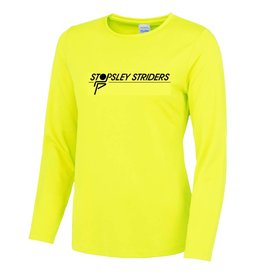 Premium Force Stopsley Striders Ladies L/S Cool T
