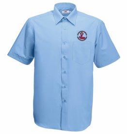 BERFC Short Sleeve Shirt Mid Blue