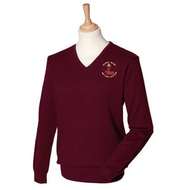 BERFC Mens V Neck Sweater