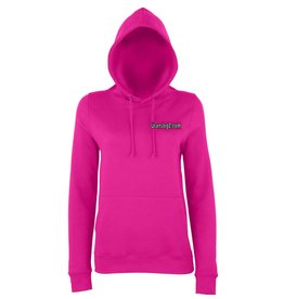 Premium Force UCANJOG Girlie Hoodie Hot Pink