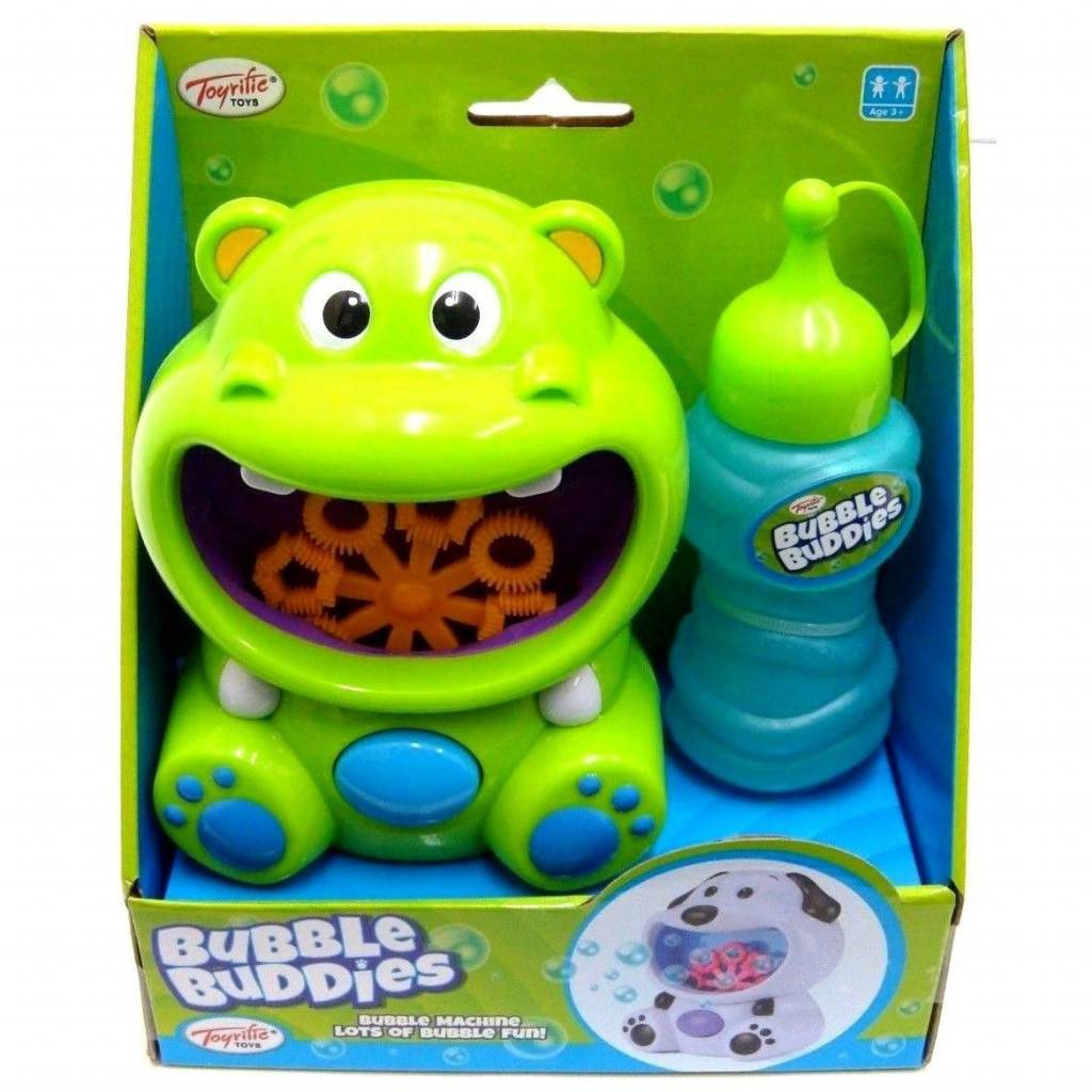 Bubble Buddies Hippo