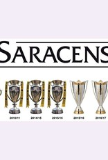 Premium Force Saracens Champions Cups Line Up Window Sticker