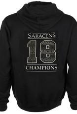 Saracens 18 Logo Champions Hoodie