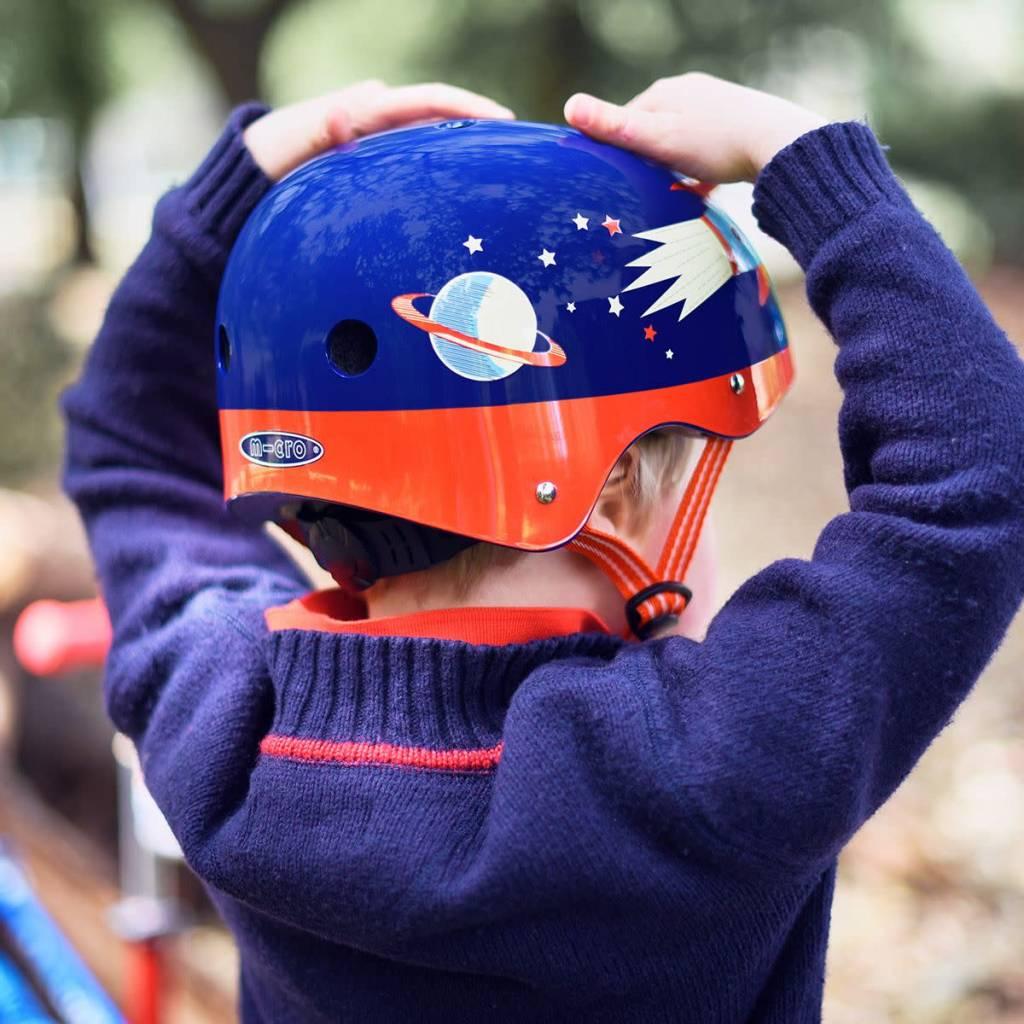 Micro Scooters Ltd Boys Micro Scooter Retro Rocket Helmet