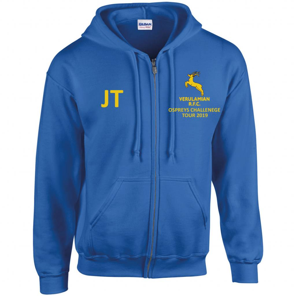 VRFC 2019 Tour Supporters Zoodie (Jnr Sizes)