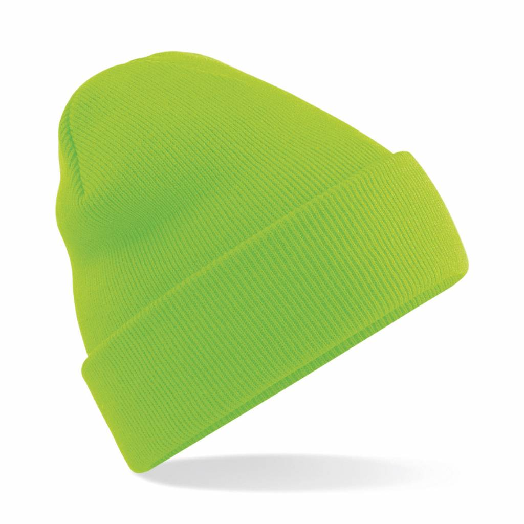 OA Adults 2019 Tour Beanie Fluo Green