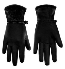 Poivre Blanc Ladies PB W18-1775 Stretch Fleece Glove