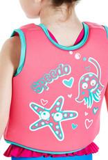 Speedo Sea Squad Swim Vest Pink/Aqua Age 2/4
