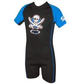 Boys Pirate Summer Shortie Wetsuit 2mm