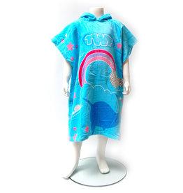 Girls Hooded Towel Robe Narwhal