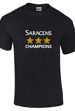 Adults Triple Champs 3 Star T Shirt 2019
