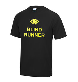 Adults Blind Runner Cool T Shirt