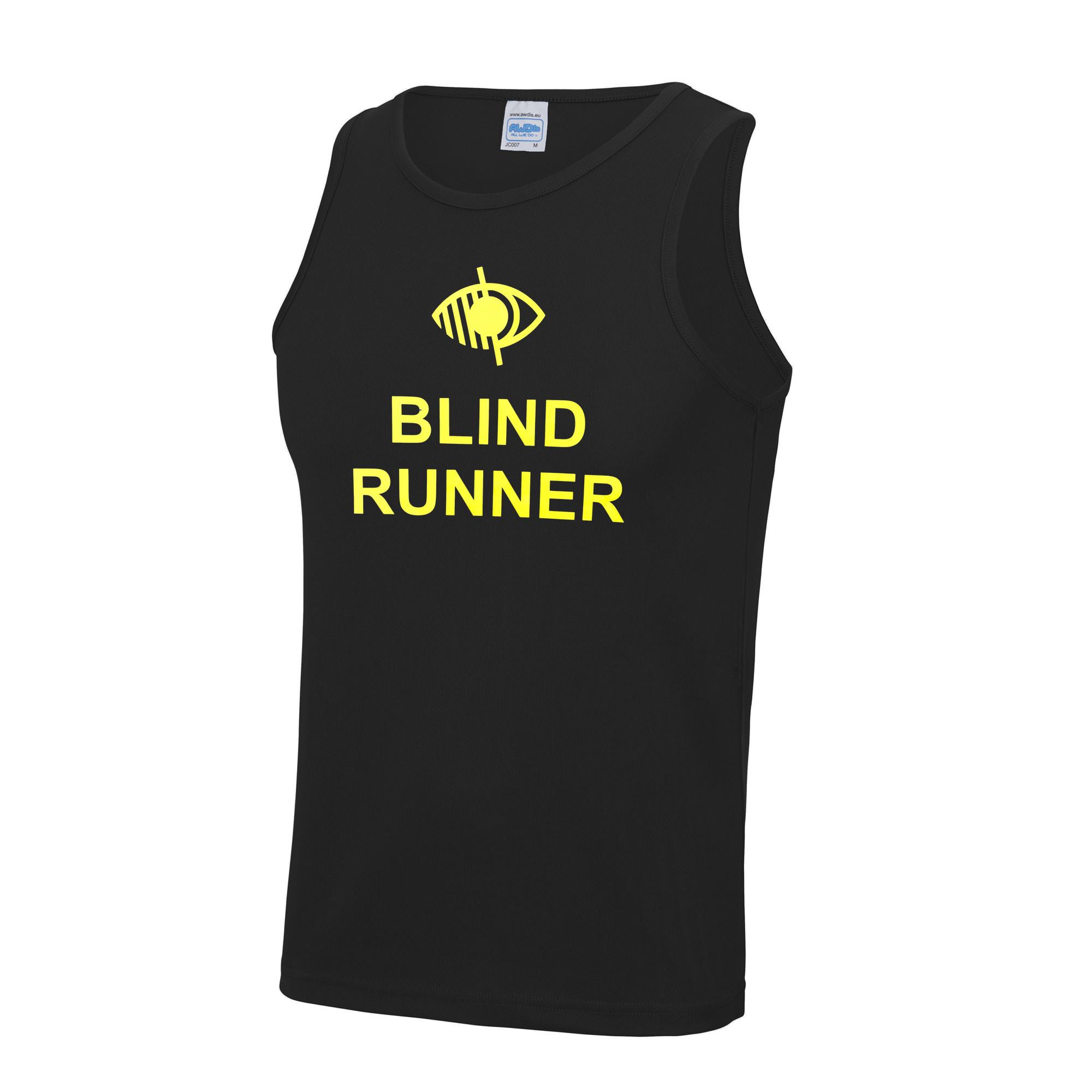 Adults Blind Runner Cool Vest