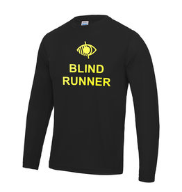 Adults Blind Runner L/S Cool T Shirt