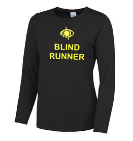 Ladies Blind Runner L/S Cool T Shirt