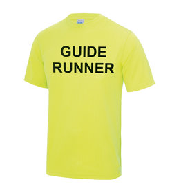 Adults Blind Guide Runner Cool T Shirt