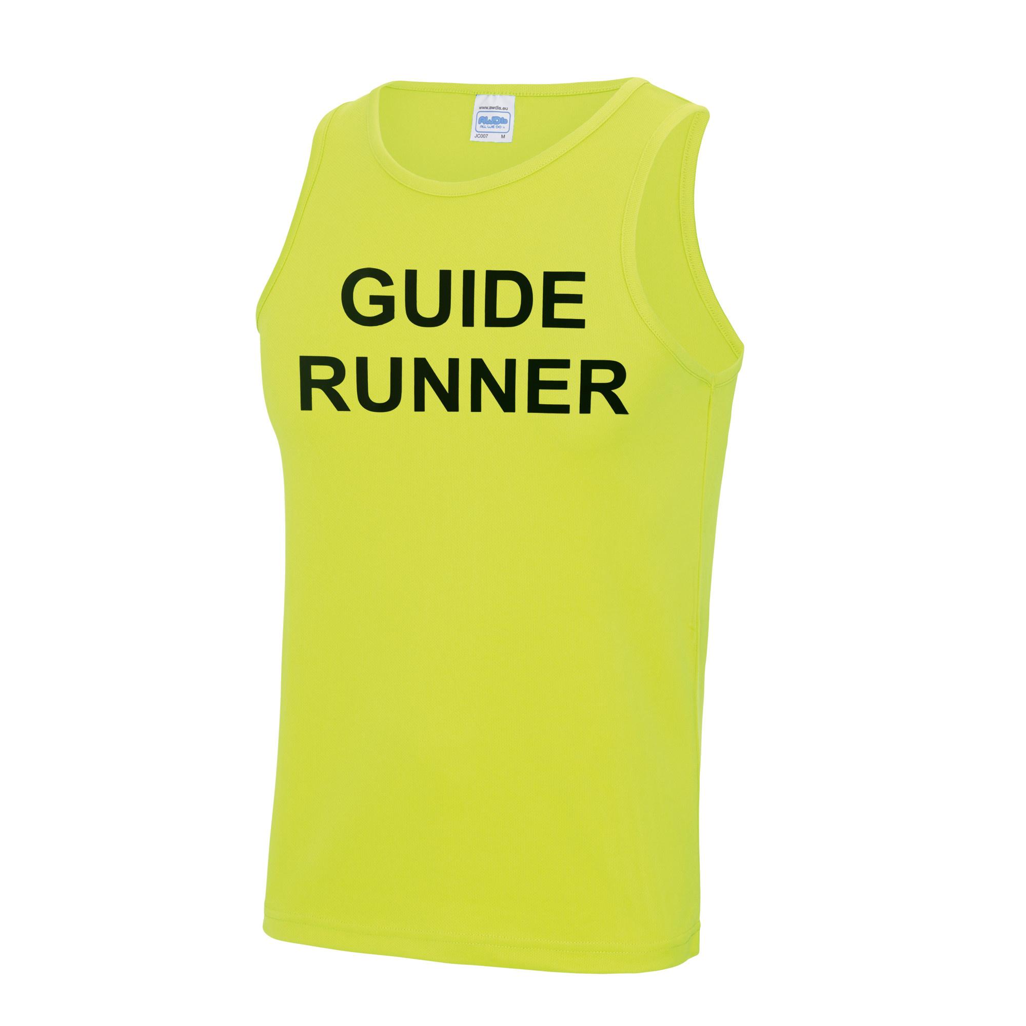 Adults Blind Guide Runner Cool Vest