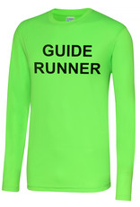 Adults Blind Guide Runner L/S Cool T Shirt