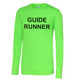 Premium Force Adults Blind Guide Runner L/S Cool T Shirt